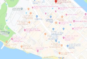星野ホテル地図