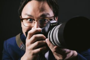 記者カメラ