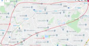 小田急沿線地図