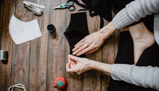 【最新】アベノマスクをリメイク!簡単な作り方や型紙と手縫い方法の動画も!