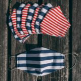 child mask stripes