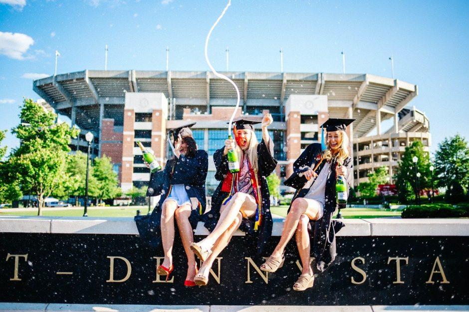 卒業&お酒